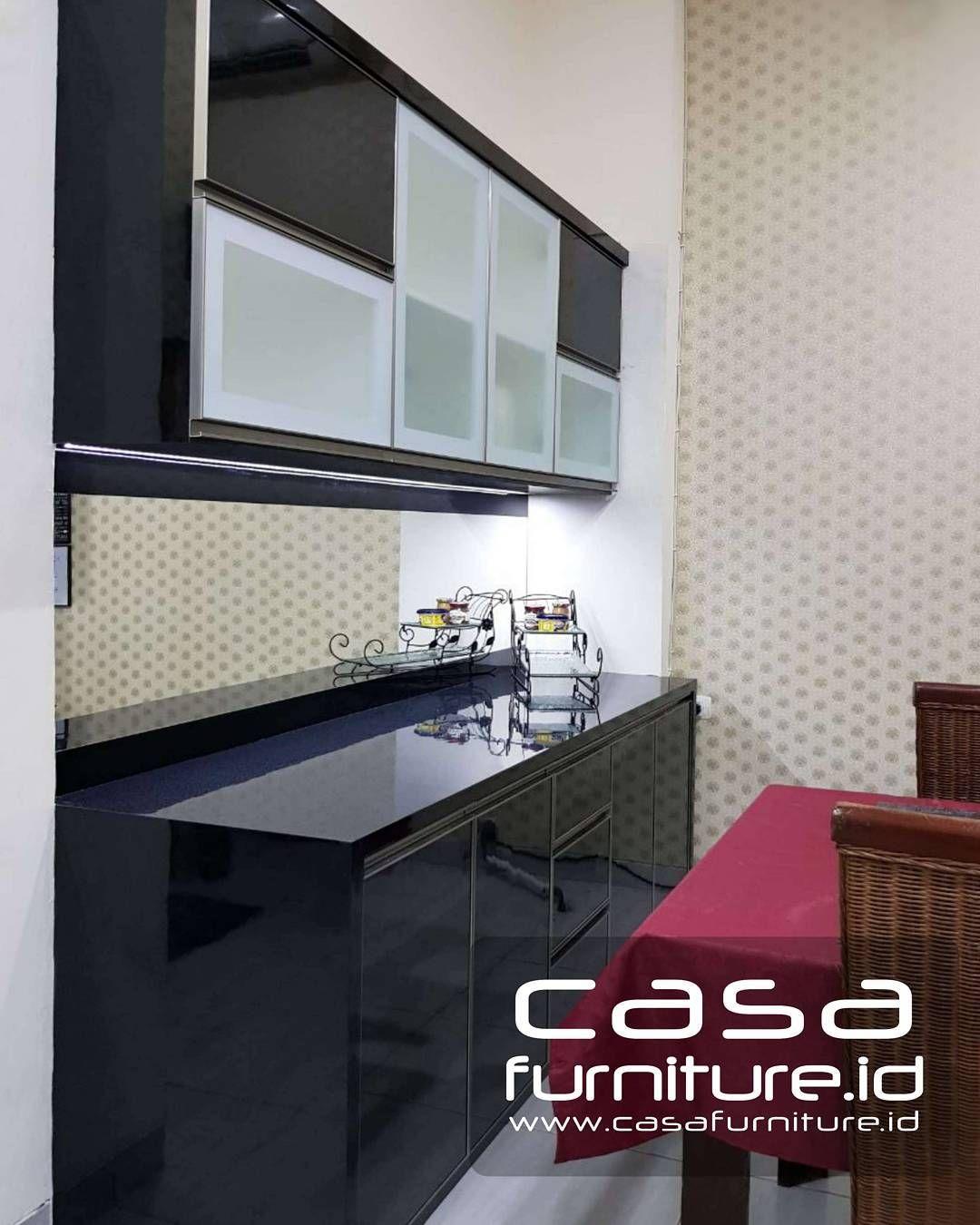 92 suka 2 komentar kitchen setlemari minimalis casafurniture id