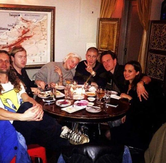 Michael, Alicia and friends in NY four weeks ago. It was posted by one of their friends on instagram.