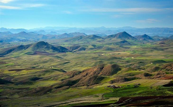 Campo Atlas, Marruecos.