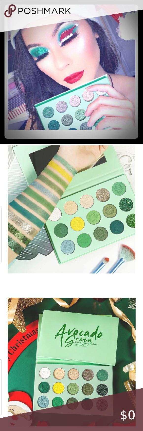 Avocado Green Eyeshadow Palette New....Avocado Green