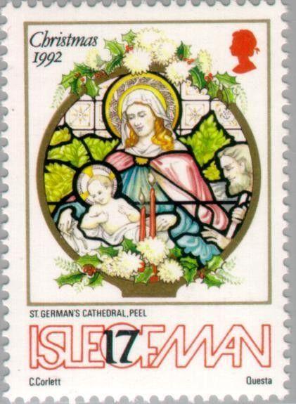 40 Christmas Stamps Christmas Postage Stamps Vintage Stamps Christmas Crafting