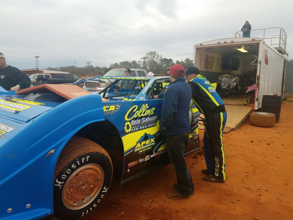 D5 Drew Collins Hartwell Speedway 3/11/17 (With images