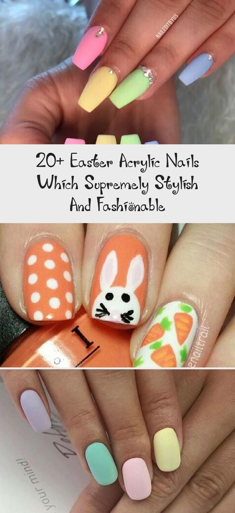 Photo of 20+ Easter Acrylic Nails Which Supremely Stylish And Fashionable – Nail Art Desing