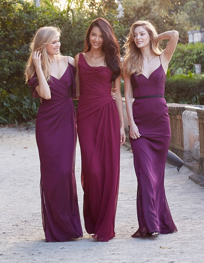 20 Inspirational Styles for your Beautiful Bridesmaids | Jim hjelm ...