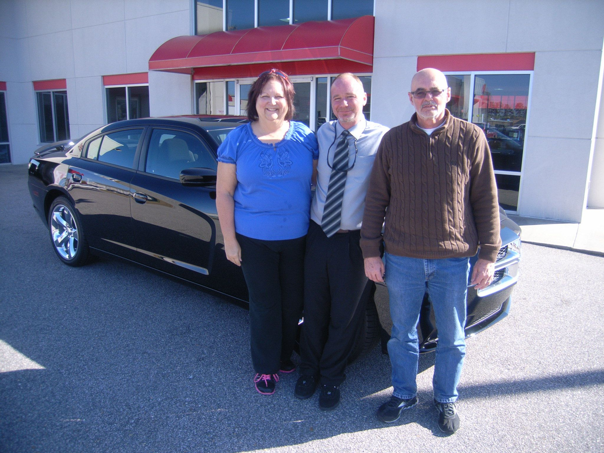 Joe and his wife Wonetta from Wilson NC are returning to Cox Dodge