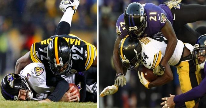 high stakes potential gift in christmas game between ravens steelers - Nfl Christmas Games