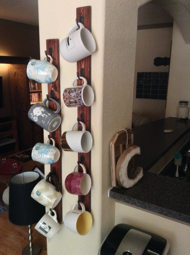 Coffee Mug Racks