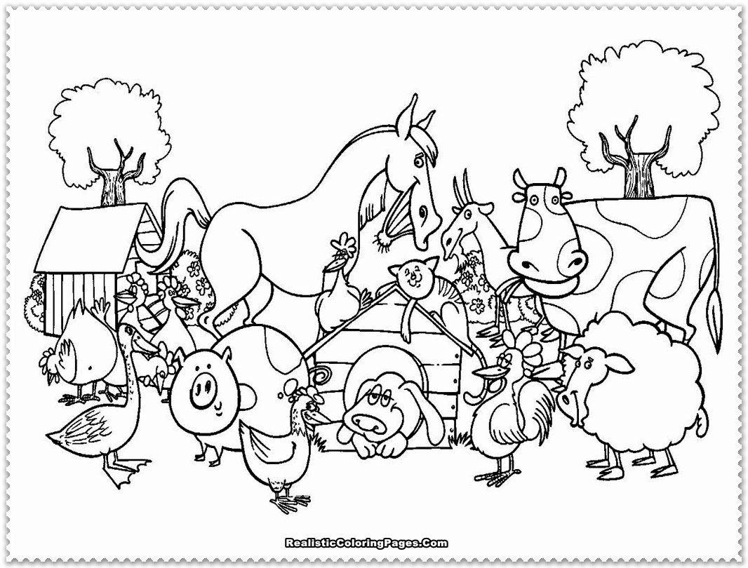 Farm Animals Coloring Page New Animal Farm Coloring Pages Bestofcoloring Farm Animal Coloring Pages Farm Coloring Pages Animal Coloring Pages
