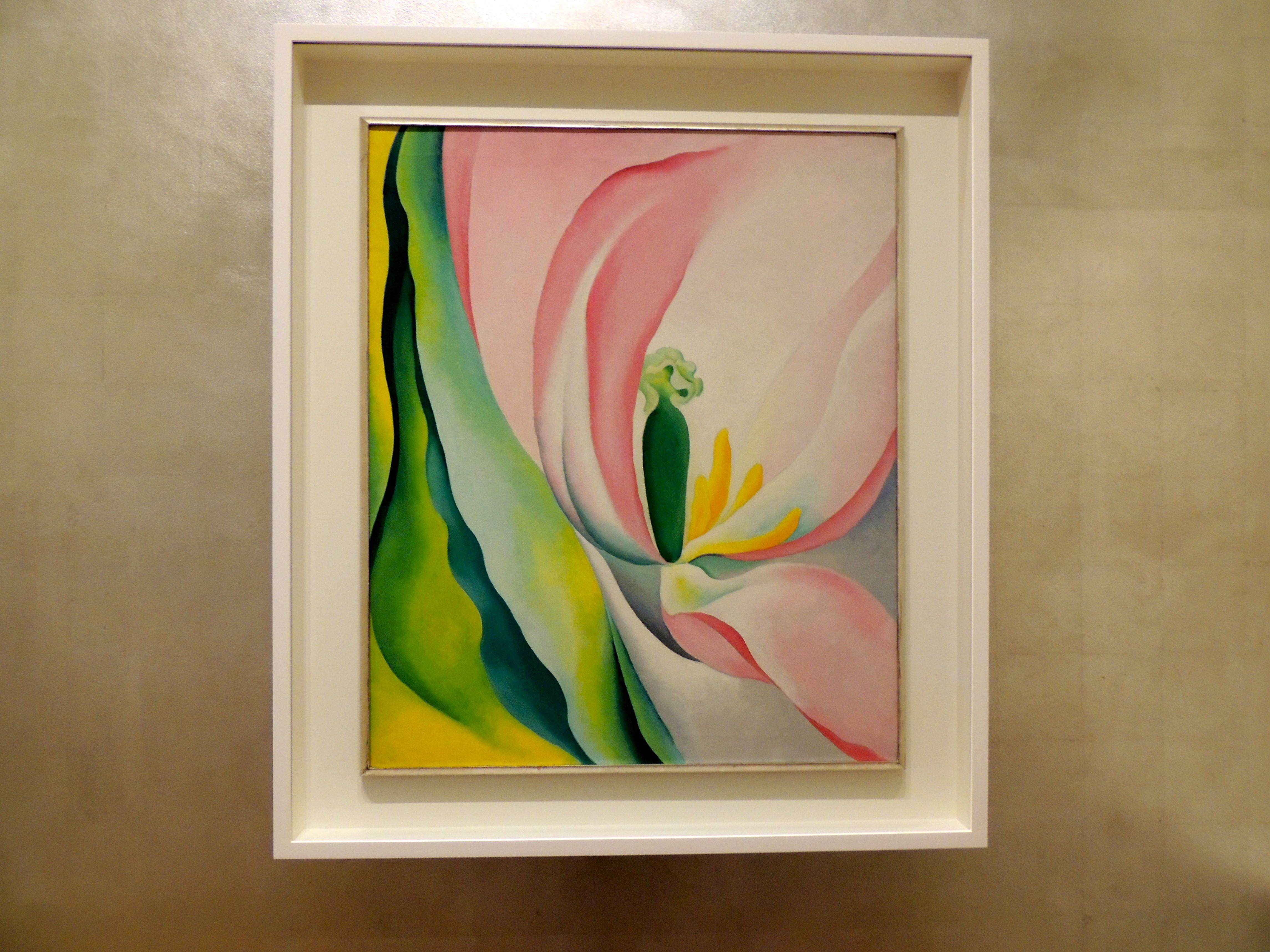 Pink Tulip by Georgia O'Keefe