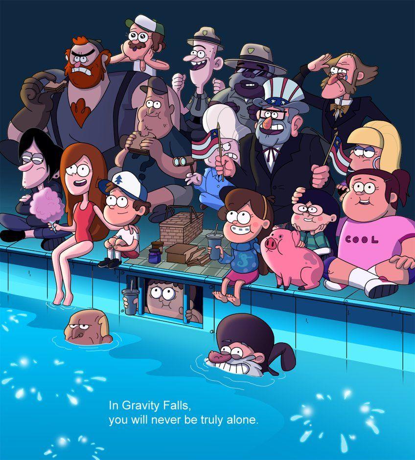 Gravity Falls The Deep End by markmak on DeviantArt