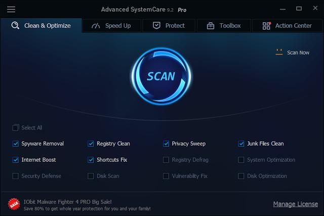 advanced systemcare pro full mega