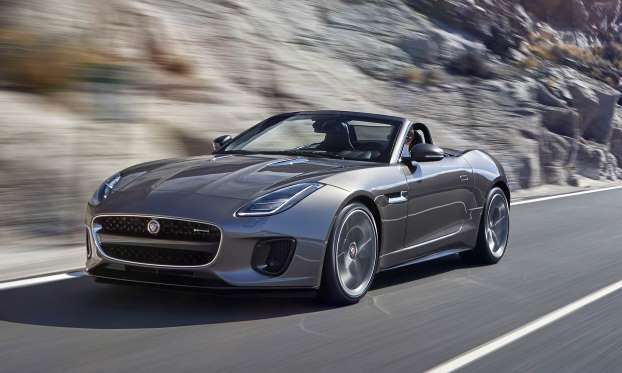 The Very Example Of A Modern High Performance Coupe The F Type Had