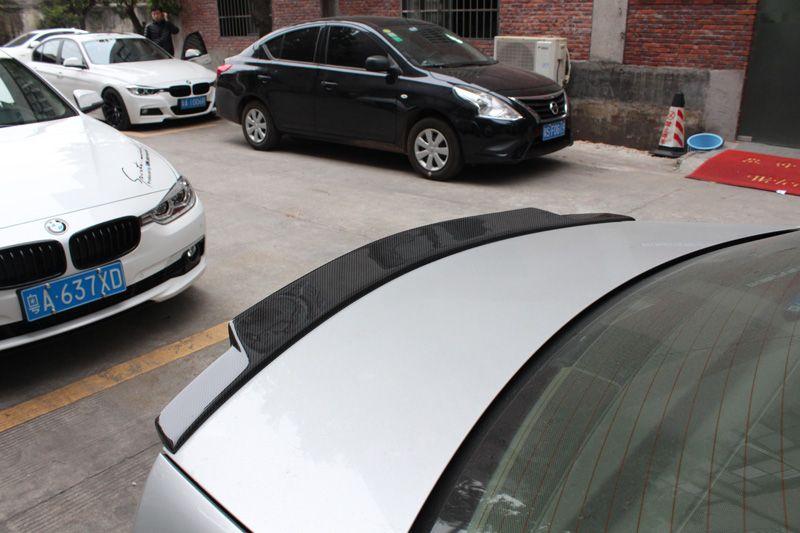 C Class W204 Carbon Fiber Spoiler C74 Style For 4 Door Carbon Fiber Spoiler Mercedes Benz C Class