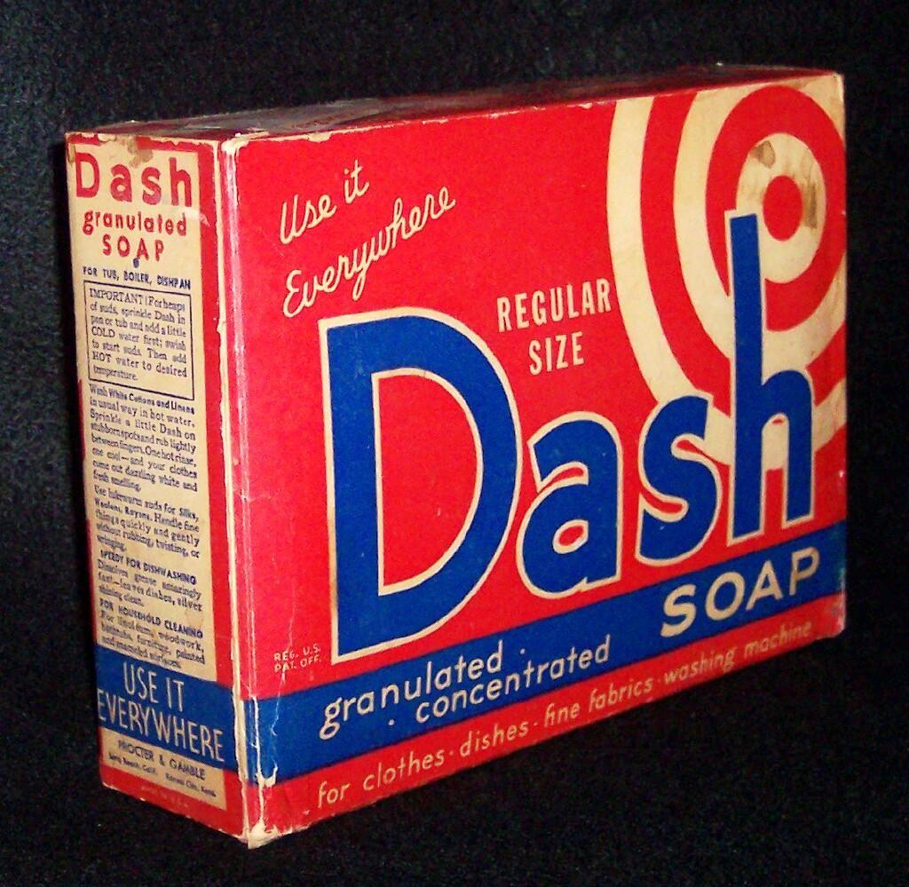 Vintage Dash Laundry Soap Detergent Detergent Soap Laundry Soap