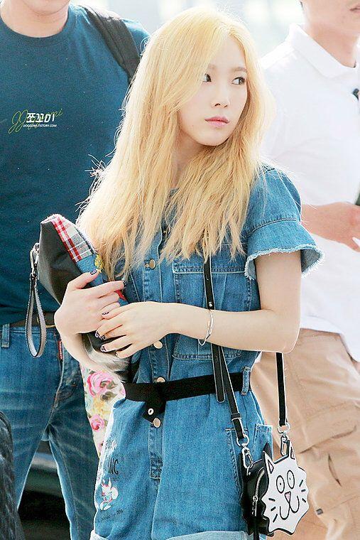 150610 Taeyeon Incheon Airport