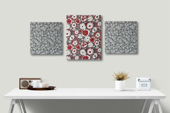 Wall Art Wall Decor Fabric Canvas Wall Canvas by ZakkayaStudios ...