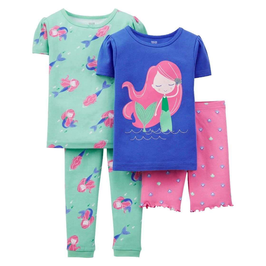 73b79d8dd7 Just One You  Made by Carter s  Toddler Girls  Mermaid Pajamas ...