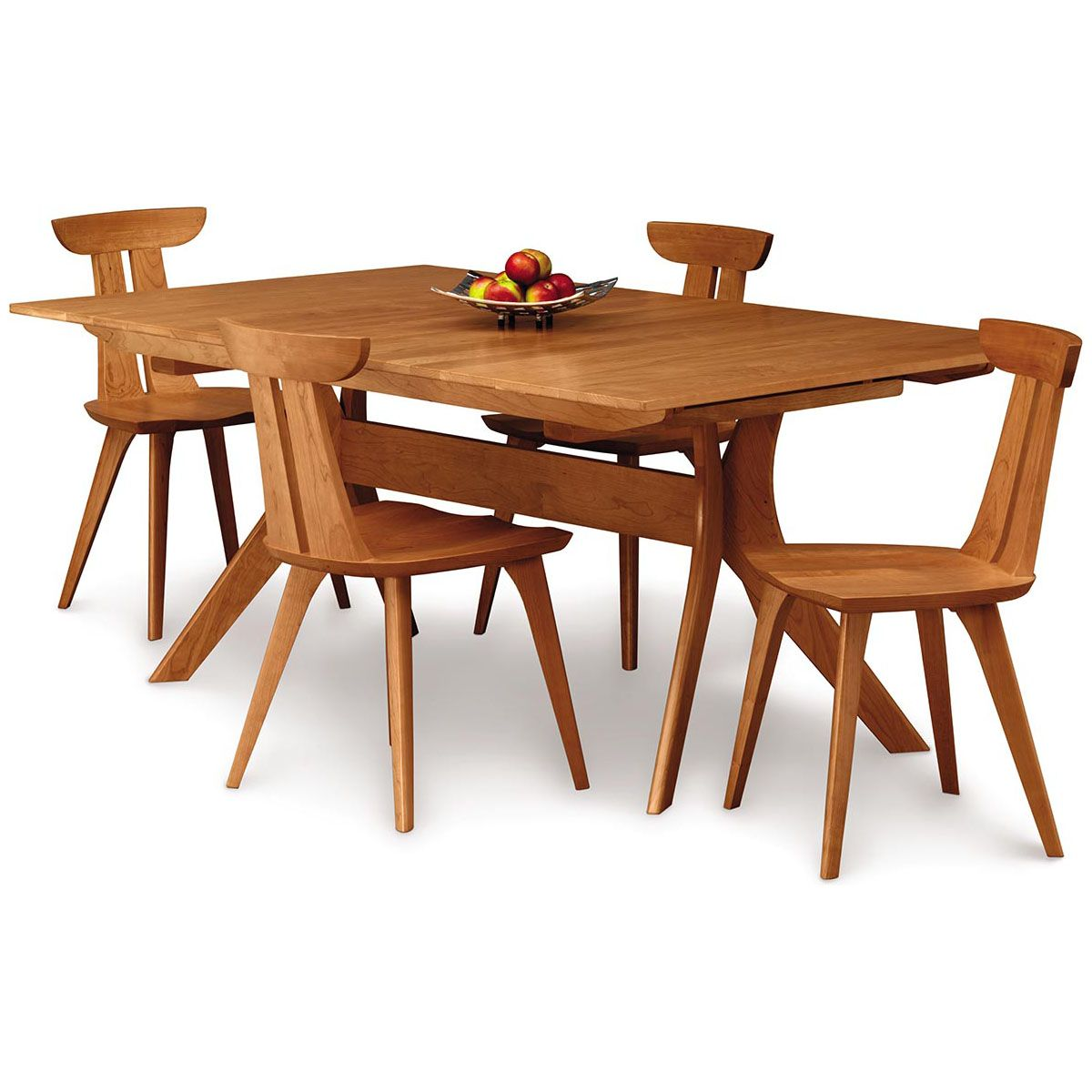 Copeland audrey 42 x 72 extension table with easystow extension and leaf storage 6 aud 20 03