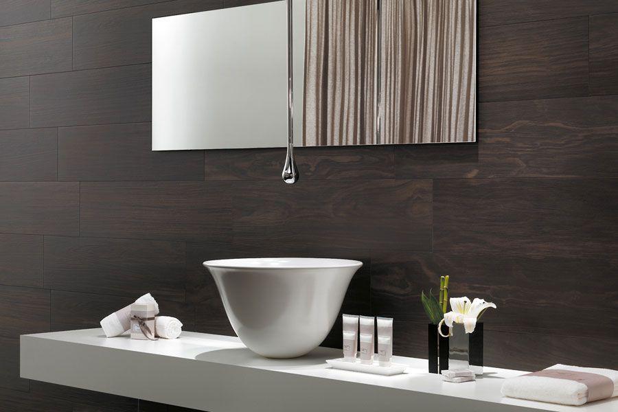Modern dark themed bathroom Dream Bathrooms Pinterest Wall