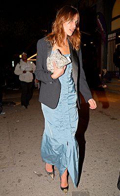 Alexa Chung wearing Nina Ricci at the 2014 Met Gala