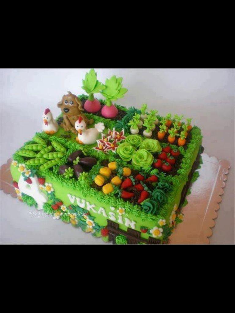 Edible Garden Cake Decorations ~ smartpros.us