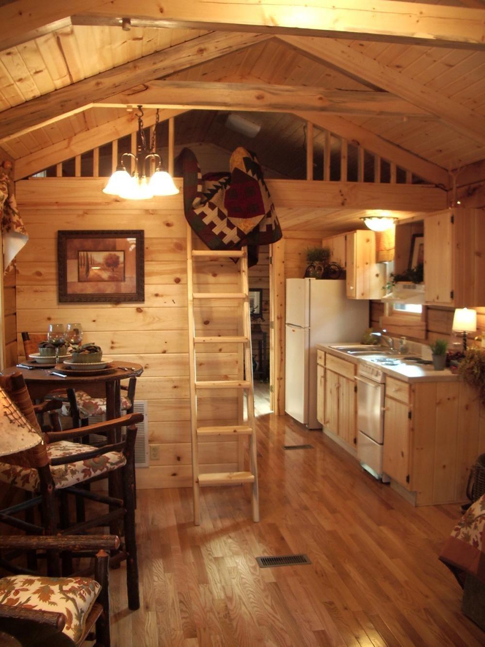 Affordable And Charming Log Cabin Park Models To Go Log Cabin