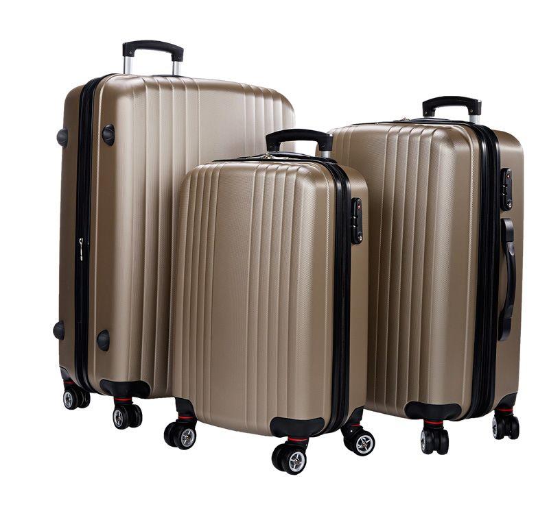 Cavalier kovat matkalaukut -50 %, 44,50/49,50/54,50 €. Kestävä ABS-muovi, 4 pyörää. 1v takuu Värit: musta ja sampanja. Koot: lento, 65cm, 75cm. Norm. 89/99/109 €. NT-Bags, 2. KRS