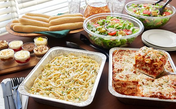 Lasagna Combination Serves 10 14 With Images Catering Menu