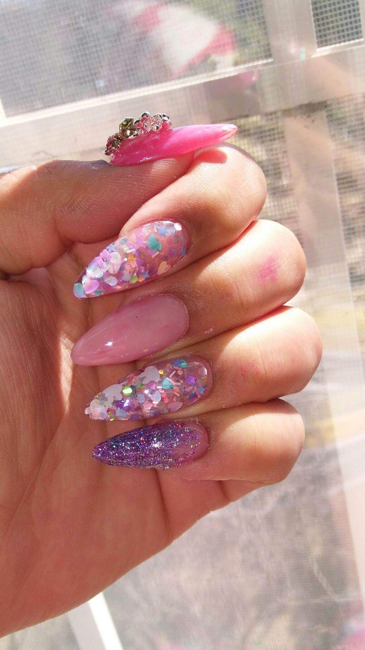 Spring/ Easter Acrylic Nails