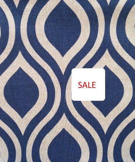 navy blue drapery fabric cheaper than