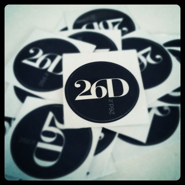 26D Stickers #26D #stickers #adesivi #shirts #tees #print #shop #design #creativity #style #moda #fashion #tshirt #logo #prints #poster