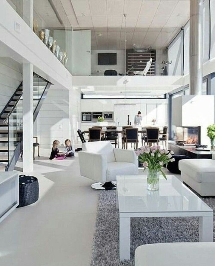 Pin by Master Raja on Home Pinterest House, Interiors and Living - hi tech loft wohnung loft dethier architecture