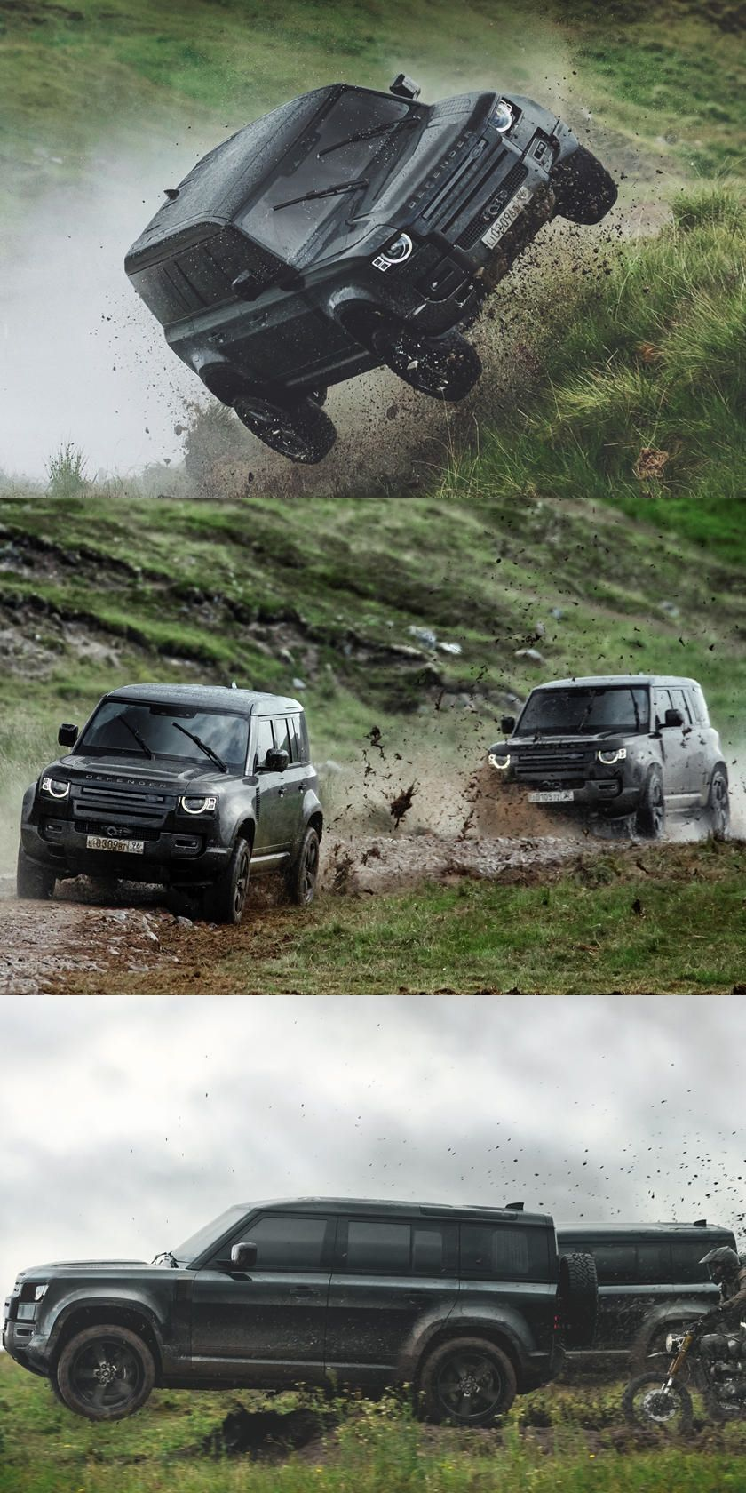 Photo of 2020 Land Rover Defender Takes A Beating In Latest 007 Film. Take a behind the s…