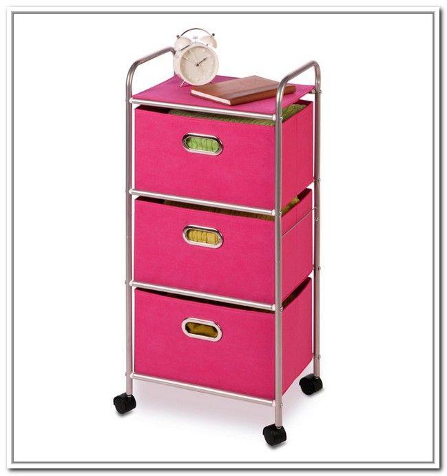 3 Drawer Storage Cart Wheels