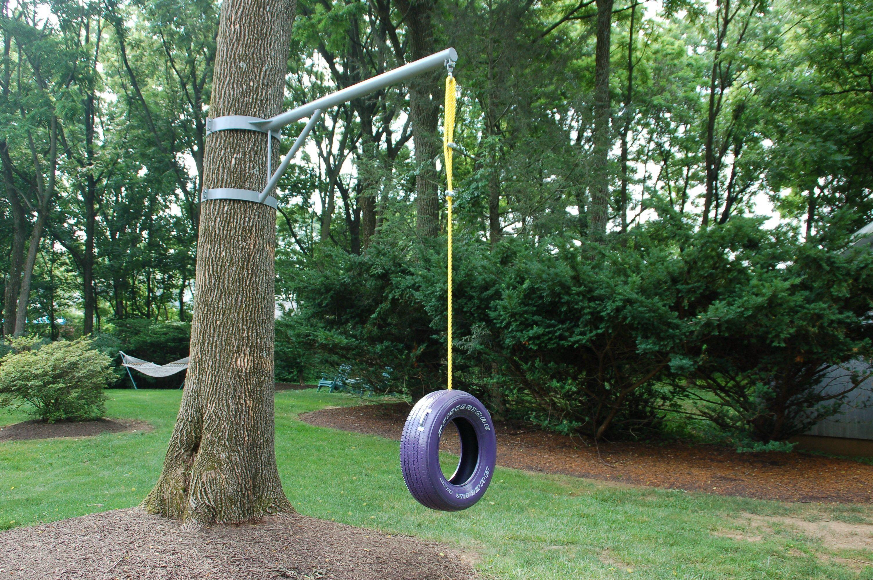 Vertical Tree Swing Outdoor Trees Backyard For Kids
