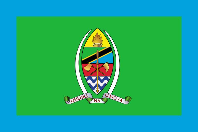 File Presidential Standard Of Tanzania Svg Tanzania Flag Flag Tanzania