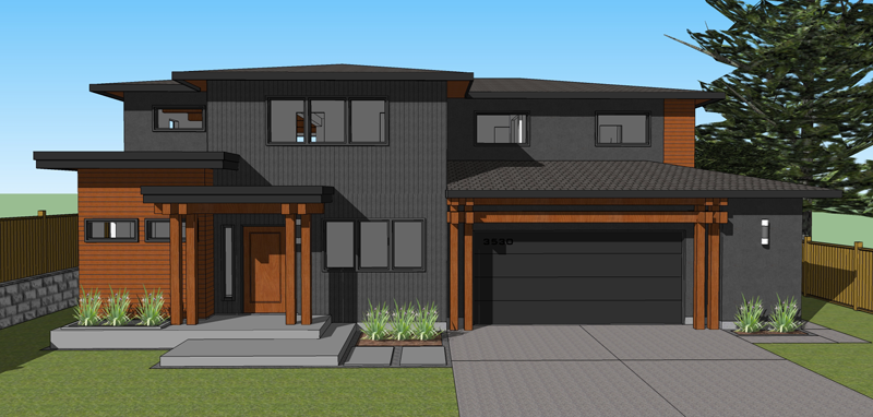 Love This Design West Coast House Plan Canada House Plans