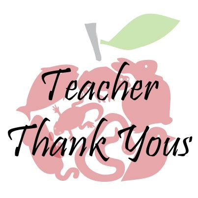 We Receive So Many Great Thank You Letters From Teachers For The