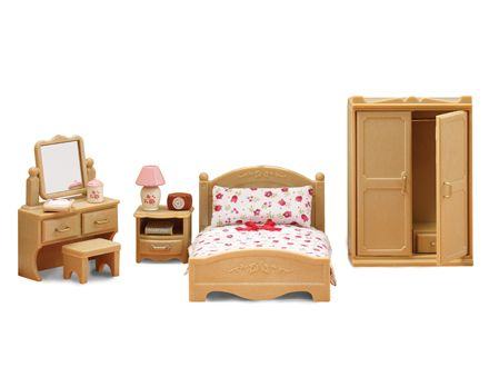 Calico Critters Official Website Calico Critters Furniture Parents Bedroom Bedroom Set