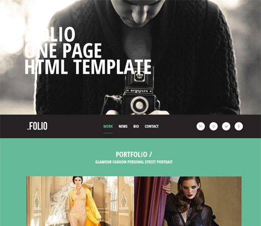 photography bio template.html