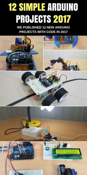 200+ Arduino Projects List For Final Year Students | Arduino ...