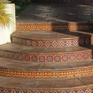 Decorative Spanish Tile Mesmerizing Image Result For Spanish Tile Steps  Spanish Curb Appeal Decorating Inspiration