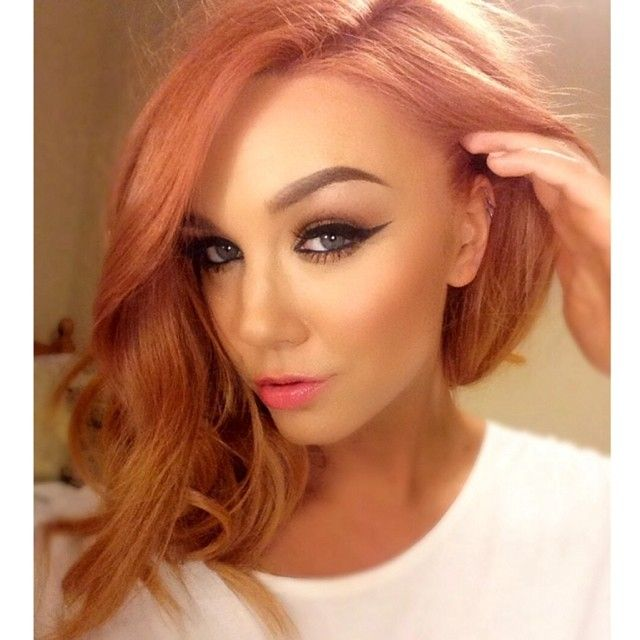 Looks like Guy Tang's ROSE GOLD! I would so do this!