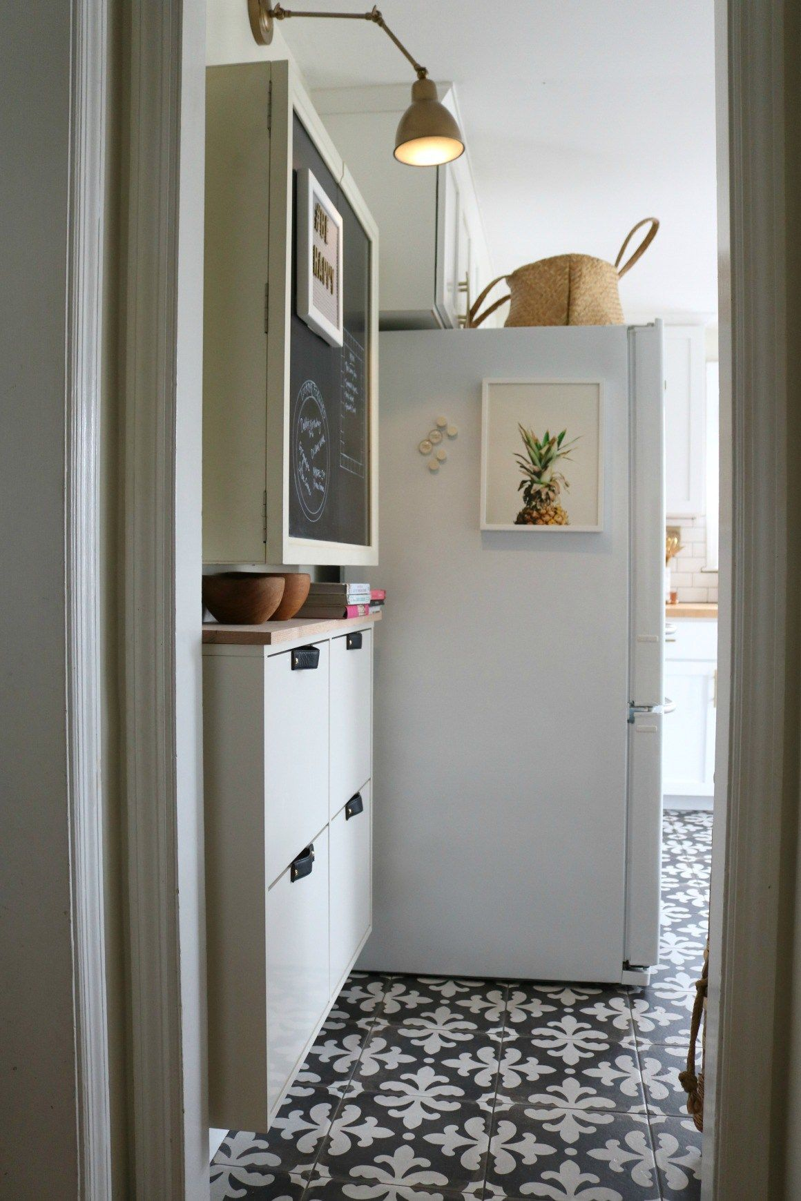 STALL IKEA HACK  Small Space Solution in our Kitchen | Organize Me