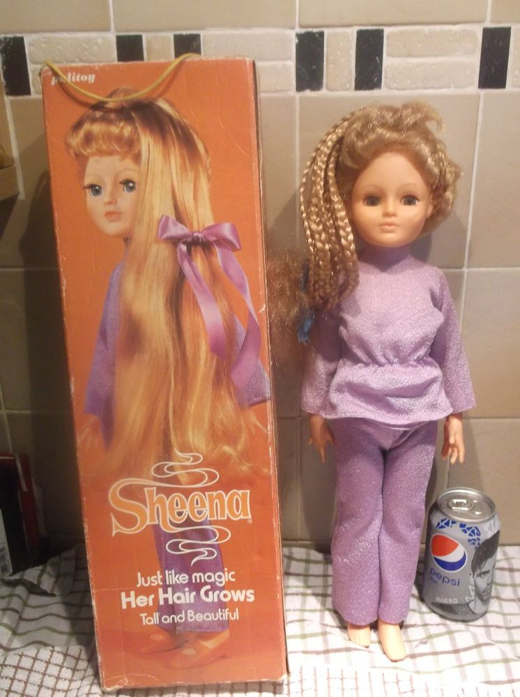 Boxed Vintage Palitoy Sheena Hair Growing Doll Vintage Delights