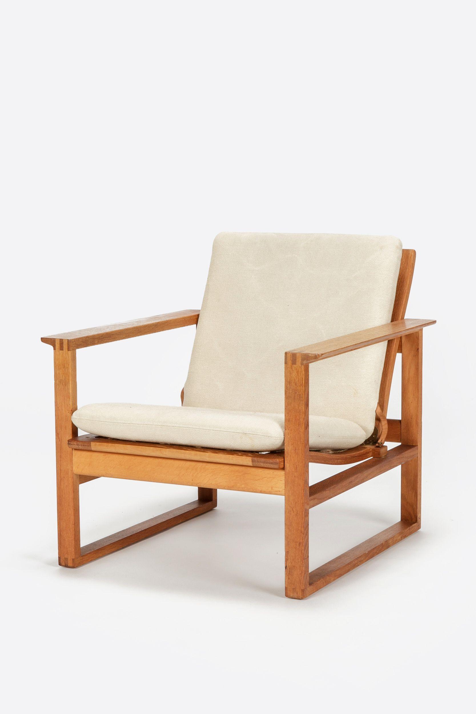 Borge Mogensen Lounge Chair Oak 2256