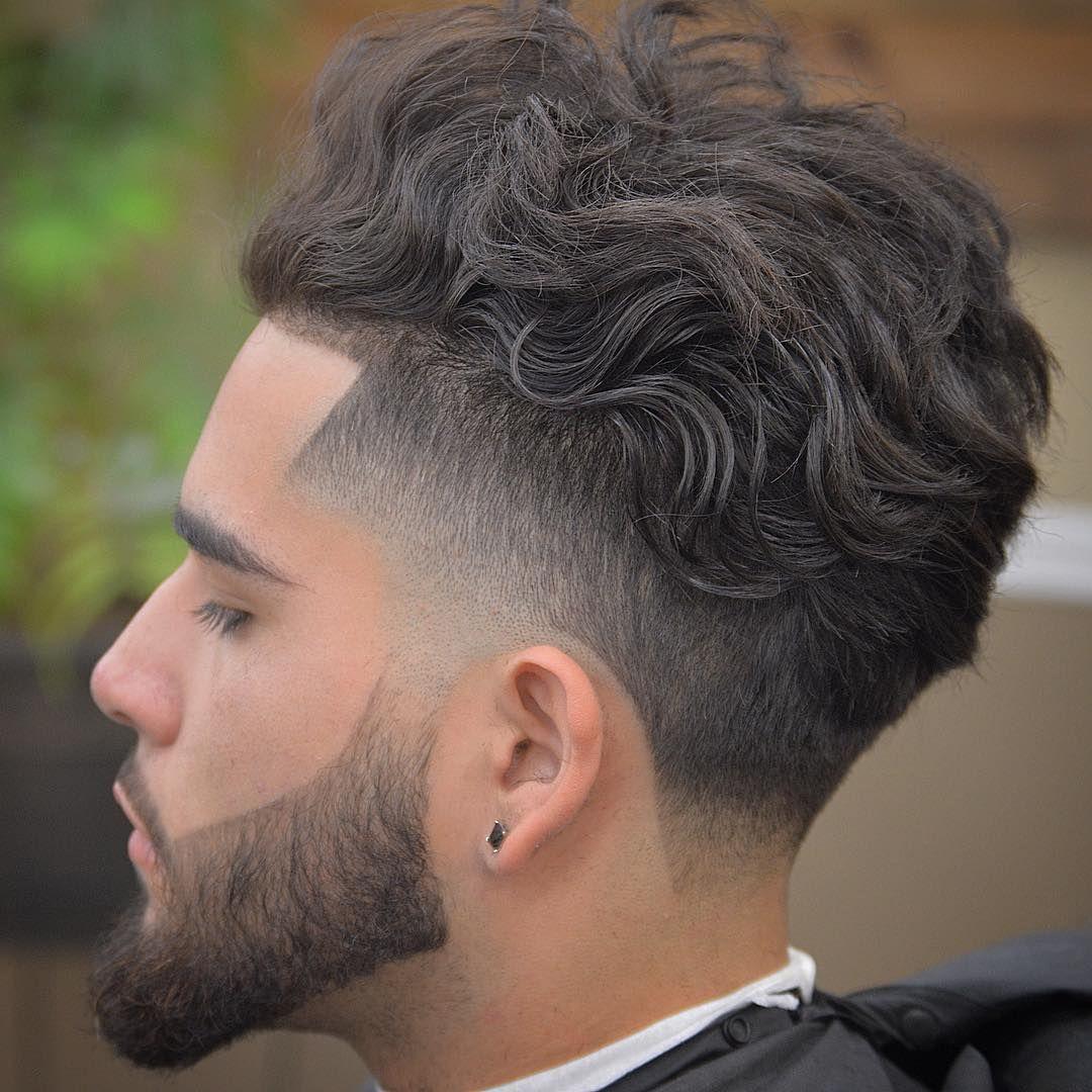 Mid Taper Fade Cropped Top Full Beard Mens Haircuts Short Mens Hairstyles Short Short Hair With Beard