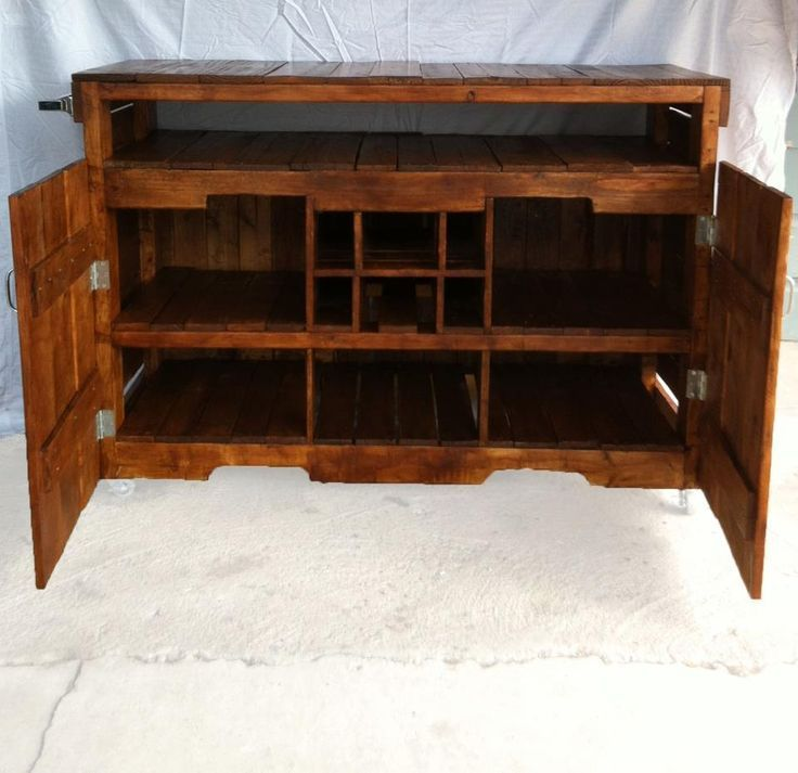 Custom Kitchen Island made from pallets $450. Why so expensive thought ...