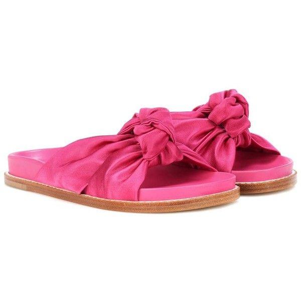 knotted slides - Pink & Purple Etro 9xmBOGZVFt