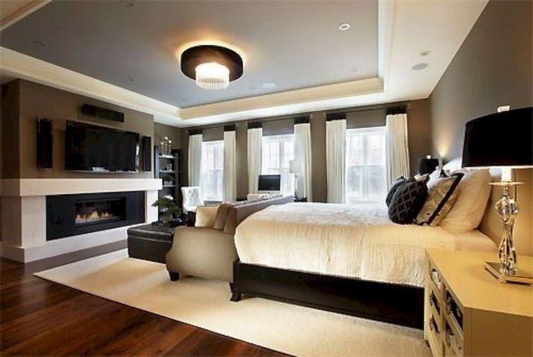 40+ Cozy Beautiful Master Bedroom Decorating Ideas images